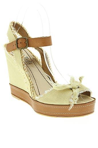 ann tuil chaussures femme de couleur beige