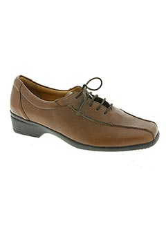 Derbies marron GANTER pour femme