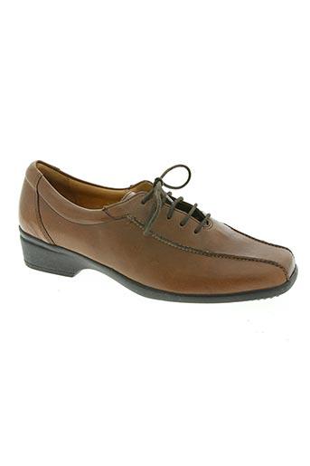 ganter chaussures femme de couleur marron