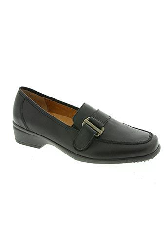 ganter chaussures femme de couleur noir