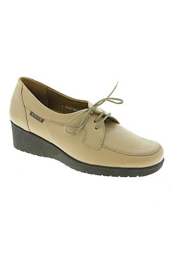 mephisto chaussures femme de couleur beige