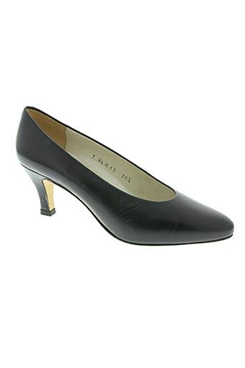 poncino chaussures femme de couleur bleu
