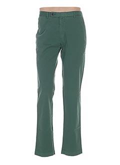 Pantalon casual vert HACKETT pour homme