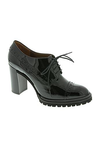 de robert chaussures femme de couleur noir