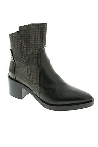 donna carolina chaussures femme de couleur noir