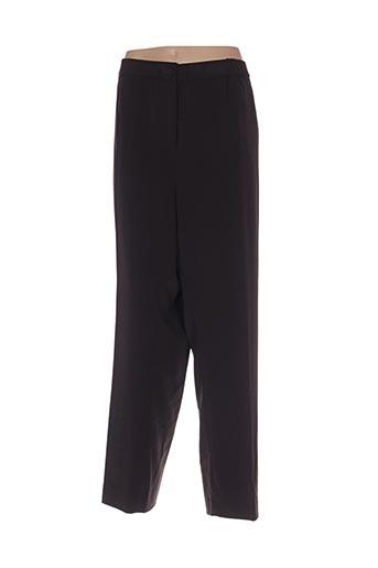Pantalon chic marron BRAND pour femme