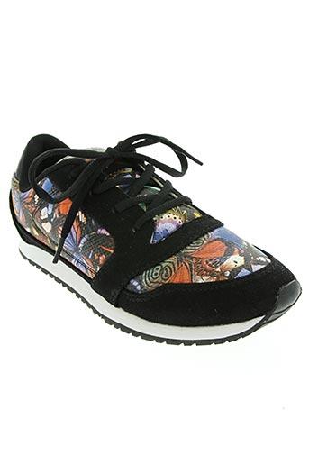 no blues chaussures femme de couleur noir