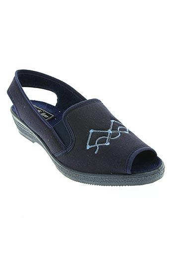 wapiti chaussures femme de couleur bleu