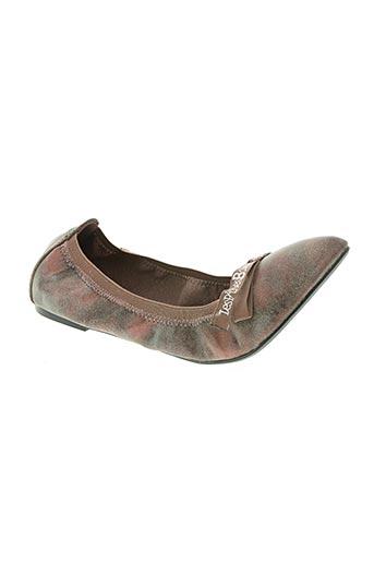 les p'tites bombes chaussures femme de couleur rose