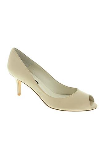 enric navarro chaussures femme de couleur beige
