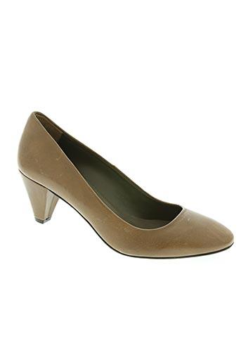 enric navarro chaussures femme de couleur marron