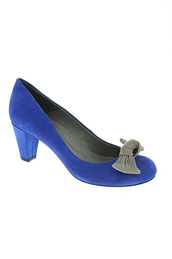 enric navarro chaussures femme de couleur bleu