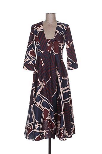 Robe longue bleu MANILA GRACE pour femme