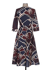 Robe longue bleu MANILA GRACE pour femme seconde vue