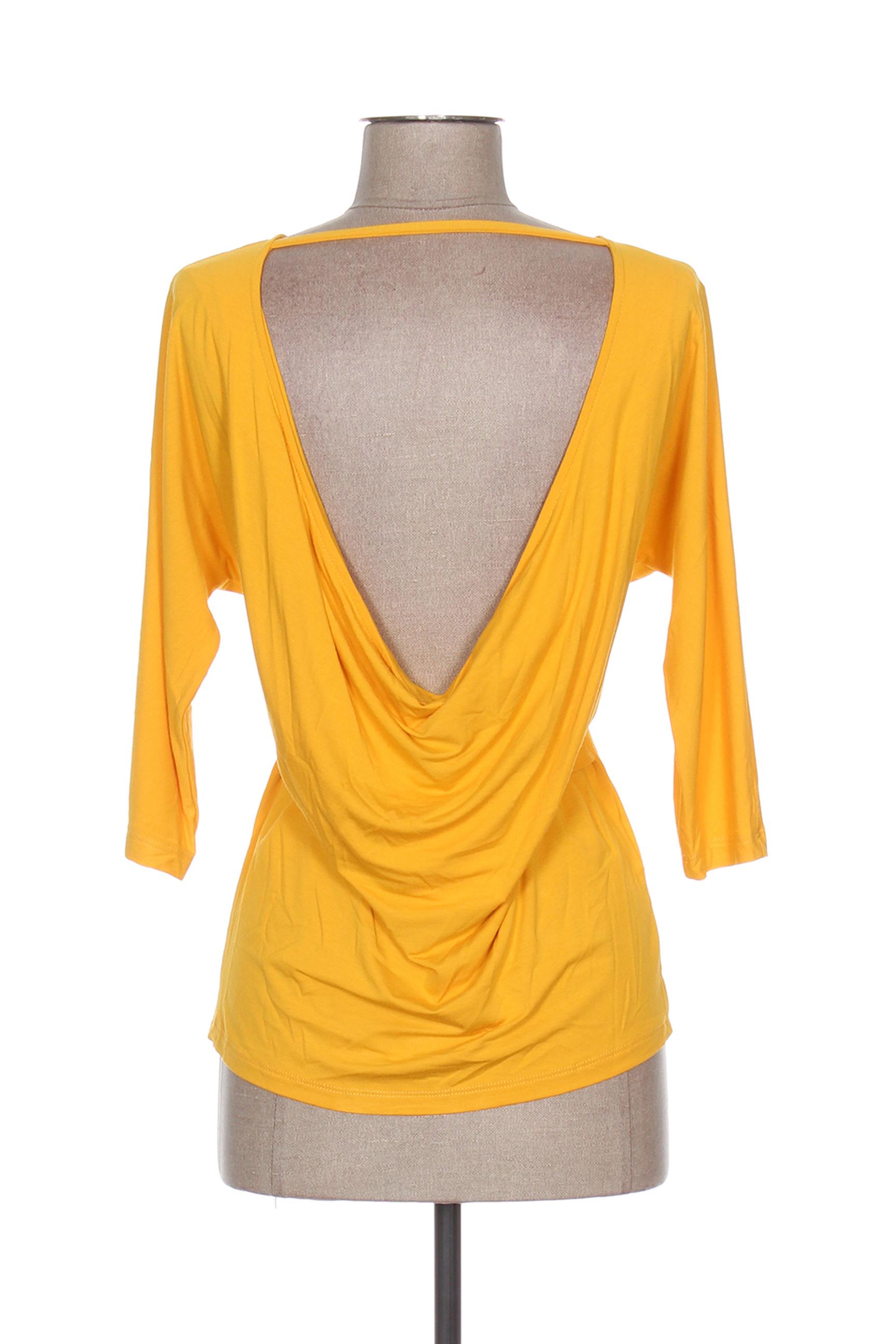 Isabel De Pedro Manches Longues 1 Femme Couleur Jaune En Soldes Pas Cher 1283569-jaune0
