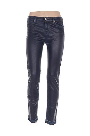 Jeans coupe slim bleu MANILA GRACE pour femme