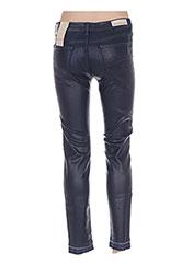 Jeans coupe slim bleu MANILA GRACE pour femme seconde vue