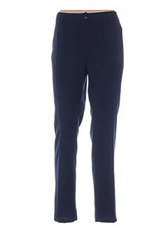 Pantalon chic bleu WEINBERG pour femme