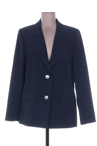 Veste casual bleu WEINBERG pour femme