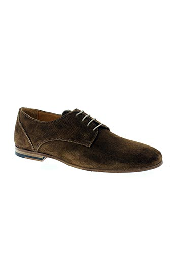 flecs chaussures homme de couleur marron