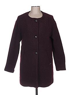 Manteau long rouge LEE COOPER pour femme
