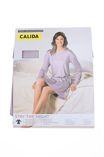 Chemise de nuit violet CALIDA pour femme
