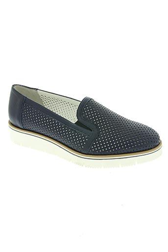 ilario morelli chaussures femme de couleur bleu