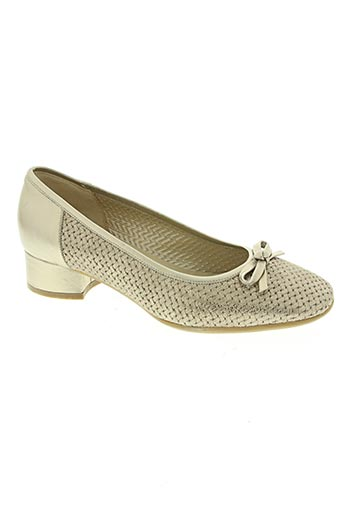 confort chaussures femme de couleur jaune