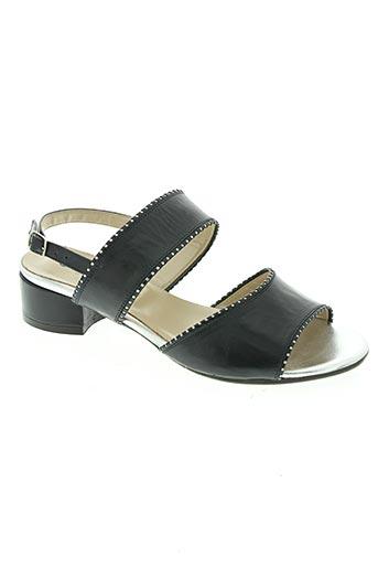 confort chaussures femme de couleur bleu