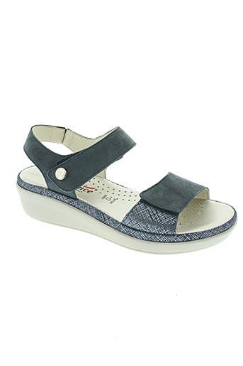Sandales/Nu pieds bleu FLORANCE pour femme