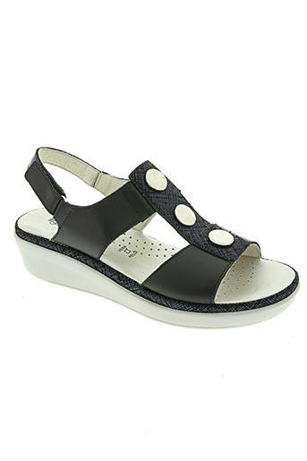 Sandales/Nu pieds noir FLORANCE pour femme