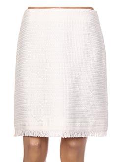 Jupe courte blanc MAXMARA pour femme