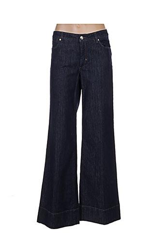 Jeans coupe large bleu SPORTMAX pour femme