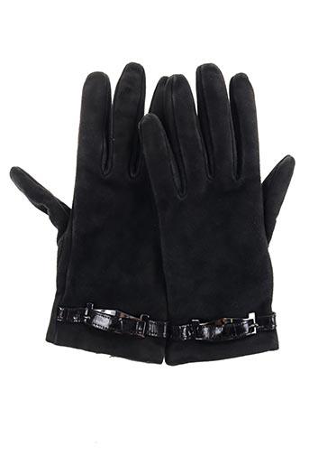 Gants noir MAXMARA pour femme