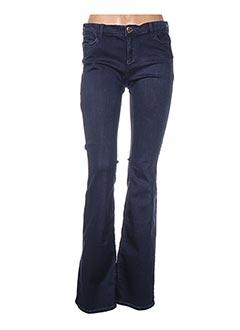 Jeans bootcut bleu TWINSET pour femme