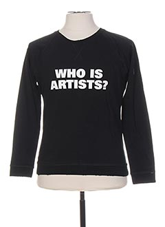 Sweat-shirt noir ARTISTS pour homme