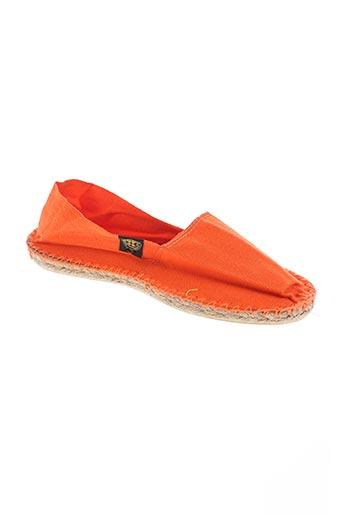 art of soule chaussures femme de couleur orange