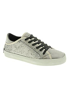 Baskets gris CRIME LONDON pour femme