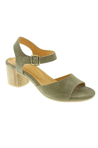 minka design chaussures femme de couleur vert