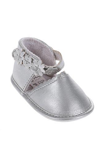 absorba chaussures fille de couleur gris