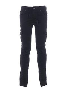 Pantalon casual noir GOV DENIM pour homme