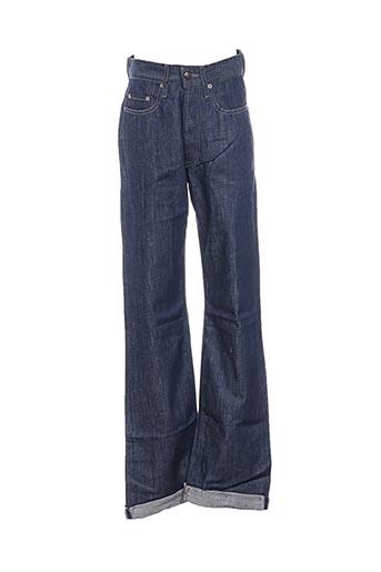 Jeans coupe droite bleu COSTELLO pour homme