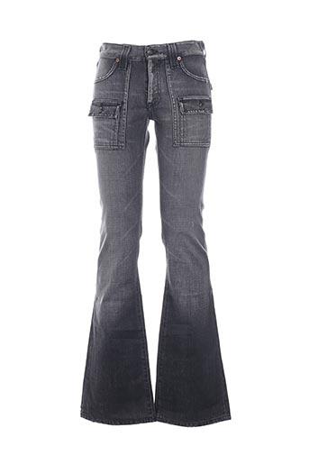 Jeans coupe droite gris COSTELLO pour homme