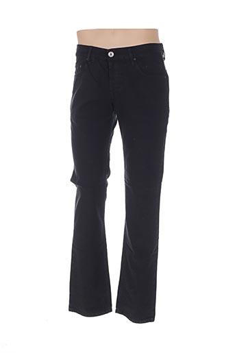 Pantalon casual noir COSTELLO pour homme