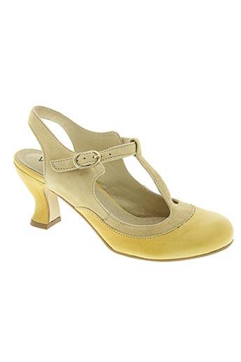 virus chaussures femme de couleur beige