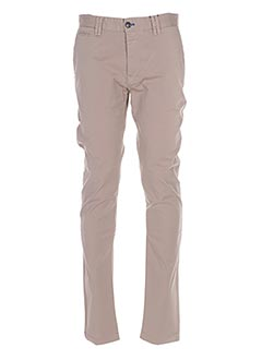 Pantalon casual beige DO REGO & NOVOA pour homme