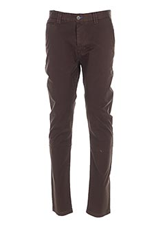 Pantalon casual marron DO REGO & NOVOA pour homme