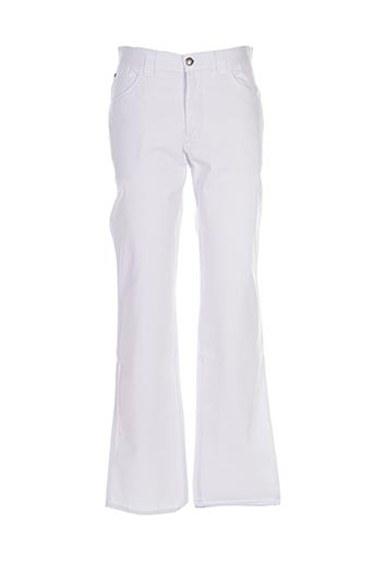 Pantalon casual blanc FLORENTINO pour homme