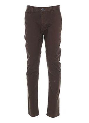Pantalon casual marron DO REGO & NOVOA pour homme