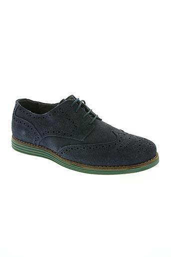 florentino chaussures homme de couleur bleu